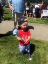 Cute Picnic kid